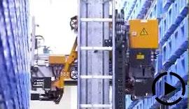 Automatische Lagerlösung für GROB