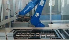 Kombination aus SUMO Ecoplex2 und SUMO Fotoplex von EGS Automatisierungstechnik mit Yaskawa Roboter