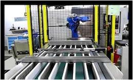 SUMO Flexiplex Drehmaschinen-Automation mit Roboter Motoman MH6 von EGS Automatisierungstechnik