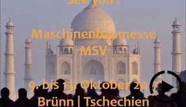 Indien: Partnerland Maschinenbaumesse MSV 2017 Brünn