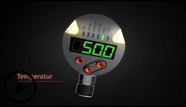 Kombiniert messen: Strömungssensor mit integrierter Temperaturmessung