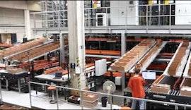 Neues ifm Logistikzentrum in Essen