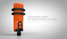 Kapazitiver Sensor mit Signalanzeige für den perfekten Schaltpunkt